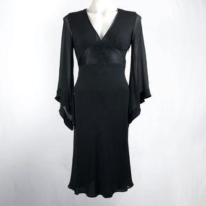 Express Black Kimono Sleeve Dress Sz 6